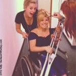 Kelly Clarkson winds up in wheelchair