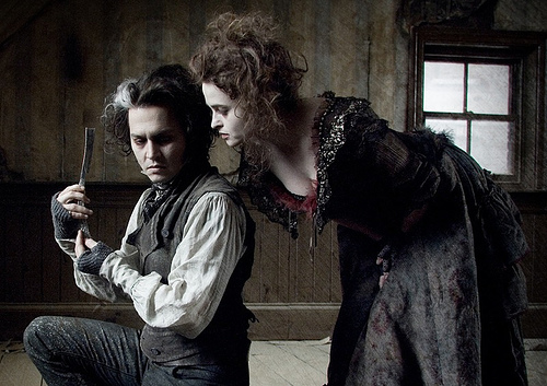 When Benjamin Barker (Johnny Depp) loses everything he loves to a corrupt judge and is exiled for 15 years, he assumes the alias of Sweeney Todd and returns to town to wreak havoc on those who crossed him. Teaming up with a struggling pie shop owner (Helena Bonham Carter), Sweeney re-opens his barber shop and […]