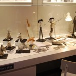 The desk of Tim Burton