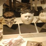 Children head busts