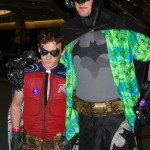 Batman and Robin on vacation