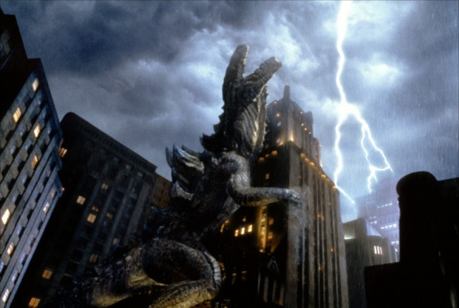 This positively insulting Roland Emmerich film takes the cheesy but allegorically poignant Godzilla franchise and twists it back into a film that's all about America—something that shouldn't sit well with fans who recognize the original's Hiroshima-heavy context. But if re-contextualizing a product born out of the ashes of an American-caused tragedy into a big, American […]