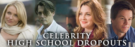 32 Celebrities Who Dropped Out of School - Celebrity Dropouts