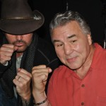 Billy Ray Cyrus and George Chuvalo