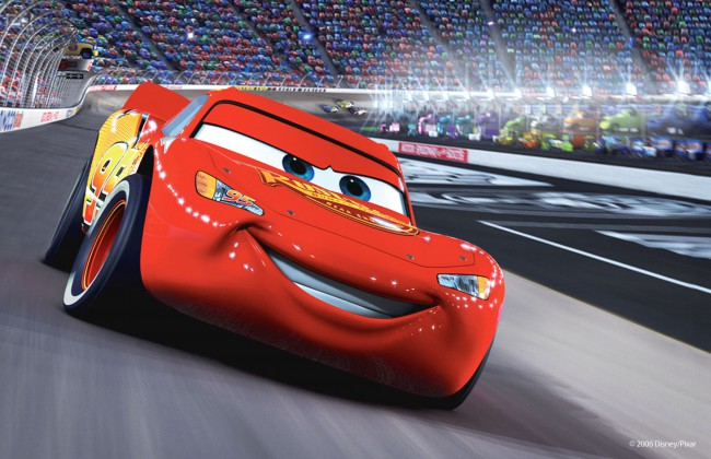 "Cars takes place in a world where cars speak and the racing culture is at its peak. Getting in a three-way tie between retiring race veteran Strip ""The King"" Weathers (Richard Petty) and runner up Chick Hicks (Michael Keaton), the rookie Lightning McQueen (Owen Wilson) must arrive one week later at Los Angeles International Speedway […]"