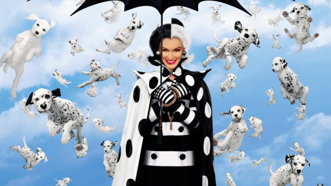The owners of two dogs meet and fall in love, as do their pooches, Pongo and Perdita. When the dogs have puppies, Cruella De Vil, who wants to make a coat from their beautiful fur, steals them.