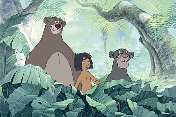 Adapted from the classic tale by Rudyard Kipling, a little foundling named Mowgli is raised in the jungle by wolves and makes friends with Bagheera the Panther and Baloo the Bear, who try to convince him to join the Man village for his own safety.