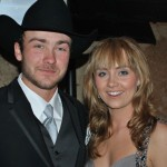 Amber Marshall, shown here with her fiancé Shawn, was voted Canada's Screen Star by fans