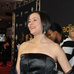 Meg Tilly was gracious on the red carpet