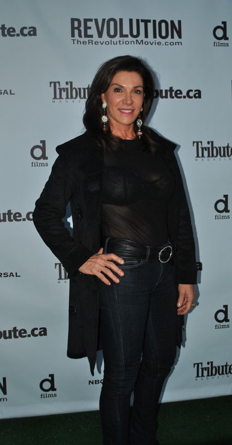 Hilary Farr, international home designer and co-host of the TV show