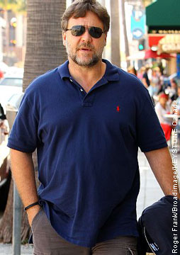 Russell Crowe's house bombarded by birds « Celebrity ...