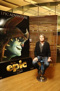 "Chris Wedge Director of ""epic"""