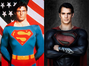 Superman Christopher Reeve Henry Cavill Vs Christopher Reeve