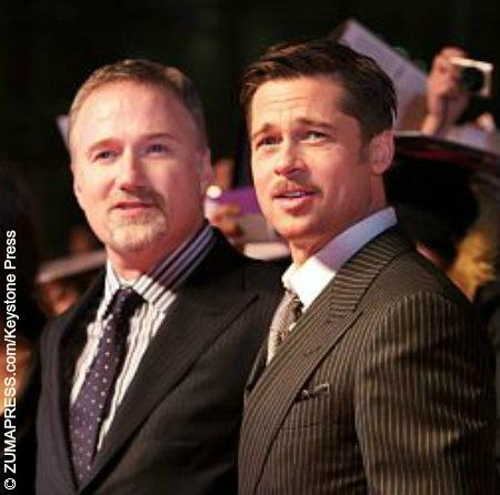 Photo of David Fincher & his friend actor  Brad Pitt - Empire
