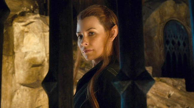 The character of Tauriel is not only a newcomer to Peter Jackson's trilogy, but also to author J.R.R. Tolkien's universe. The character was created by Jackson and writer/producer wife Fran Walsh to bring female energy to the otherwise male-dominated Hobbit narrative.