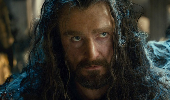 The 13 dwarves are led by Thorin Oakenshield (Richard Armitage), son of Thrain. The steadfast, outspoken leader of Thorin and Company, he hopes to reclaim Erebor from the dangerous Dragon Smaug after escaping his attack on the Kingdom under the Mountain. When his grandfather, King Thror, was beheaded during the Battle of Azanulbizar by Azog, […]