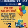 Free movies this Saturday across Canada
