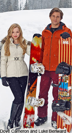 Dove Cameron and Luke Benward in Cloud 9