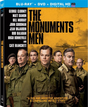 Monuments Men DVD