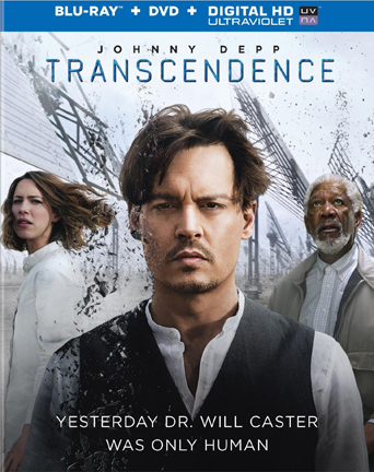 Transcendence Blu-ray Combo pack