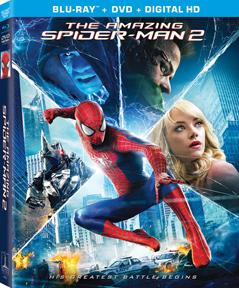 The Amazing Spider-Man 2 DVD/Blu-ray