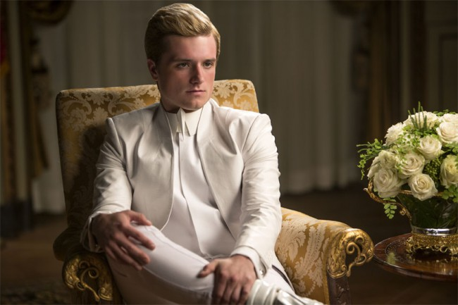 We couldn't help but shed a few tears the moment Katniss saw Peeta was alive – although definitely not well – in the Capitol.