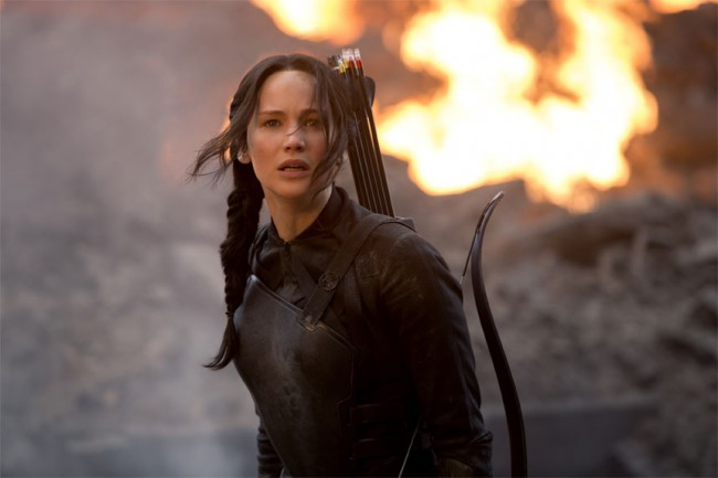 "Katniss inspired us when she established her position as the Mockingjay in her first propo declaring to President Snow: ""If we burn, you burn with us."""