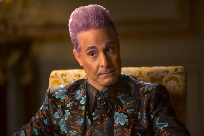 Caesar Flickerman turned from interviewer to interrogator this time around, making us weep for Peeta each time he returned to the screen.