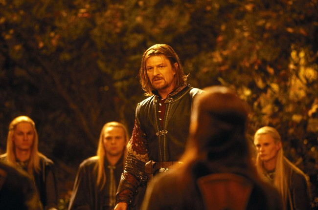 Sean Bean's portrayal of the Captain of Gondor was short lived, but enduringly iconic. Boromir represented the horrors of what the temptation of the Ring can do to an honorable man, but his greatest moment was when he risked his life to protect the lives of Merry and Pippin.