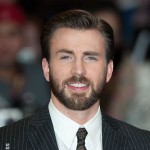 Chris Evans visits young fan with brain tumor