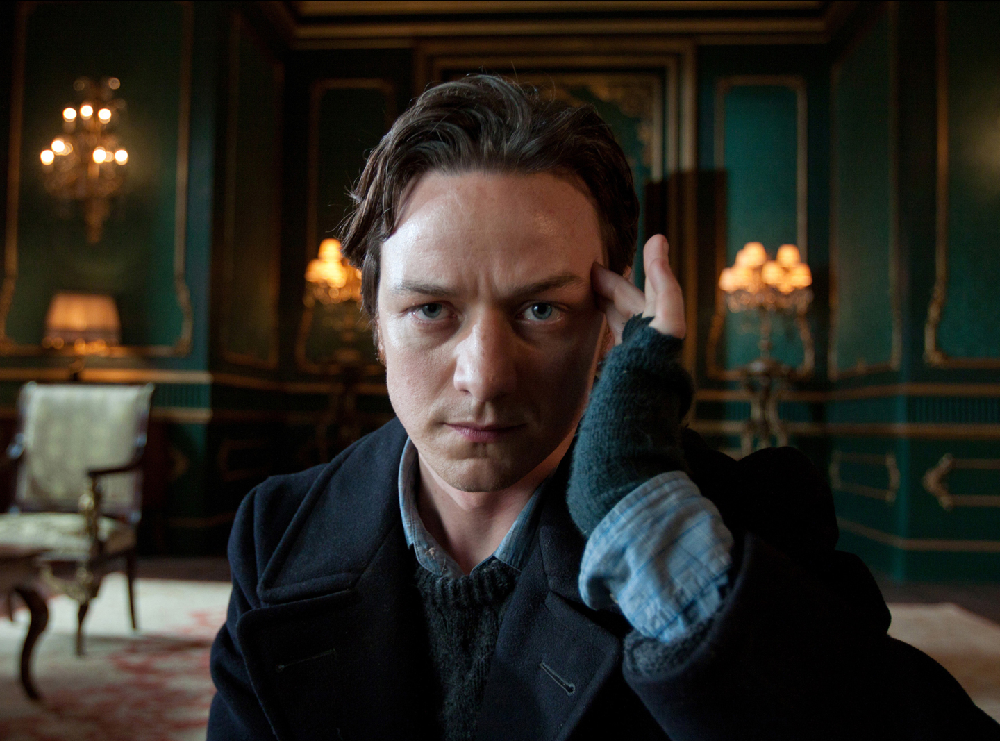 Best known for his work in X-Men: Days of Future Past and his Golden Globe-nominated performance in Atonement, handsome Scot James McAvoy also starred in The Disappearance of Eleanor Rigby alongside Jessica Chastain. Global Box Office: $747 million Pictured: James McAvoy in X-Men: First Class. Photo courtesy of 20th Century Fox.