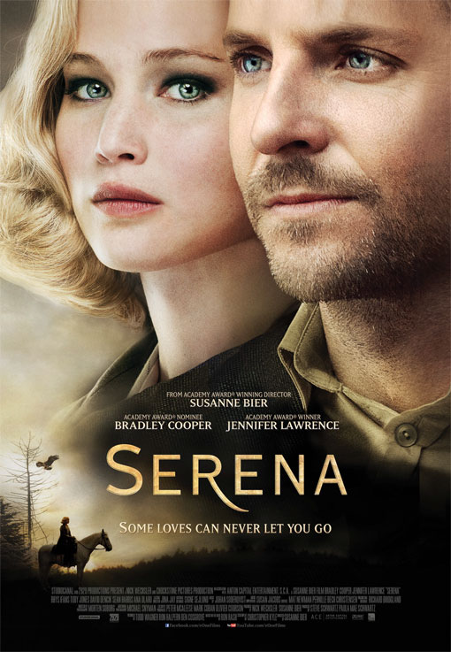 Serena starring Jennifer Lawrence and Bradley Cooper