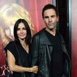 Courteney Cox having Irish Christmas