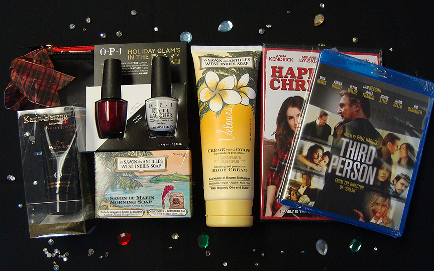 Karen Herzog, OPI, West Indies, Happy Christmas and Third Person