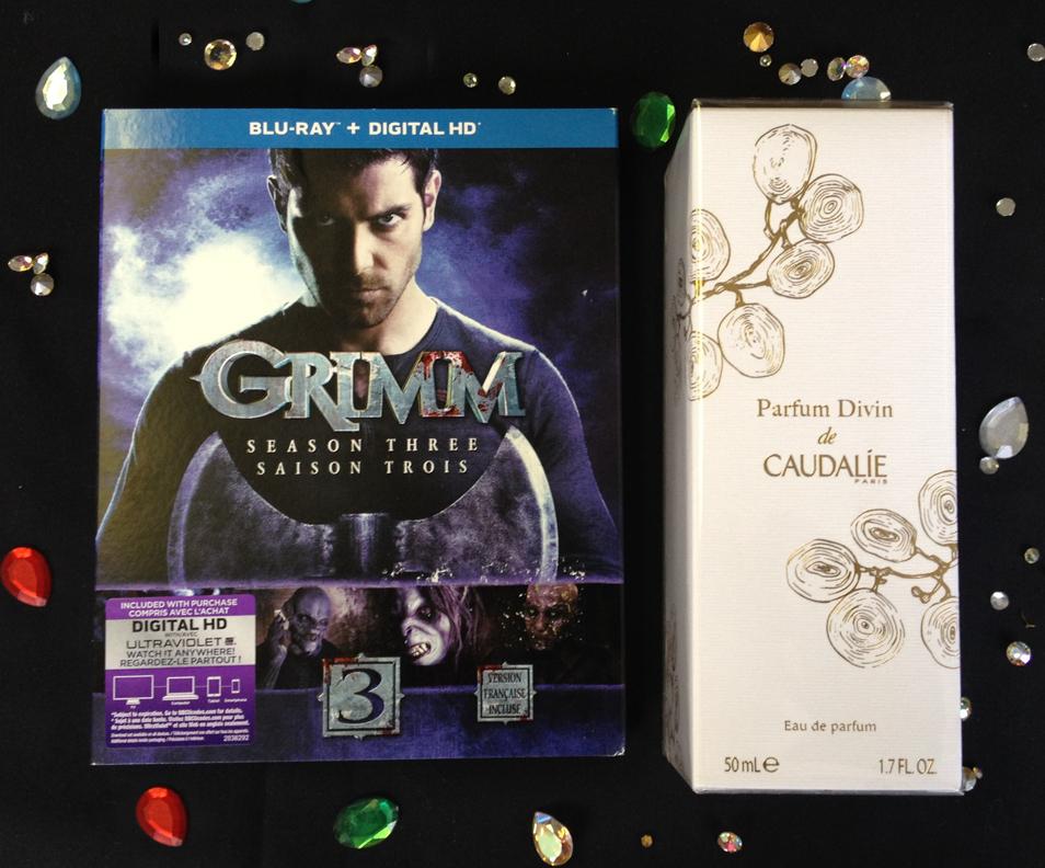 Grimm and Caudalie Parfum Divin
