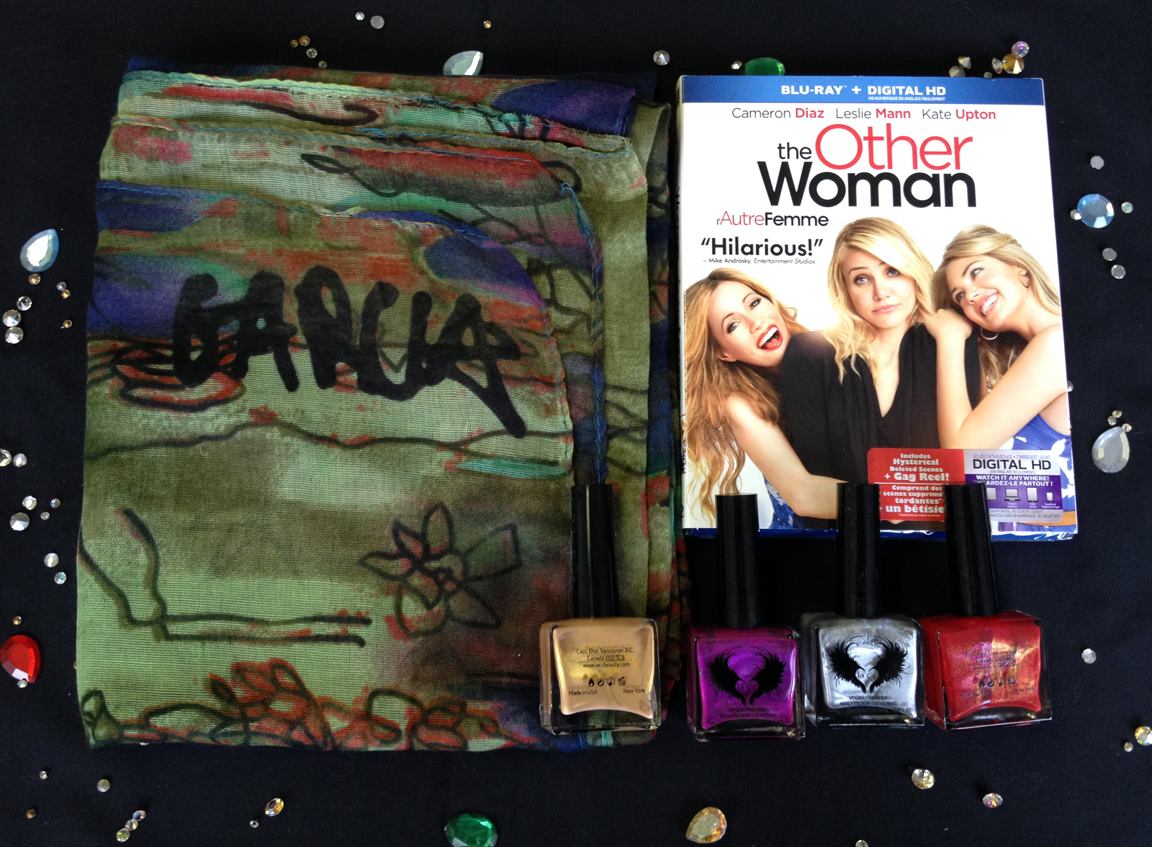 Jerry Garcia scarf, The Other Woman Blu-ray and LAAC nail polish