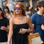 Lindsay Lohan back on track