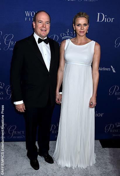 Prince Jacques and Princess Charlene of Monaco