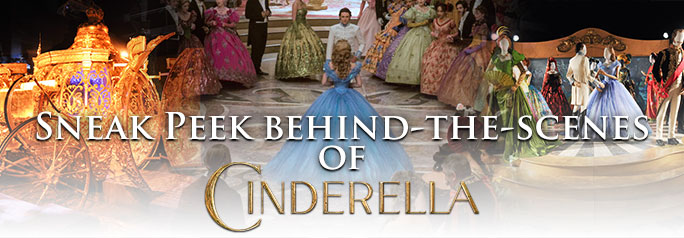 Disney Pictures's Cinderella exhibition features the spectacular costumes and original props from the upcoming live-action movie directed by Sir Kenneth Branagh, as well as original sketches and artwork from the original 1950 animated feature. The movie stars (Lily James) as Ella, a daughter of a merchant who remarries following the death of his wife, but […]