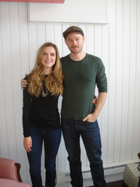 Sara Canning and Aaron Ashmore