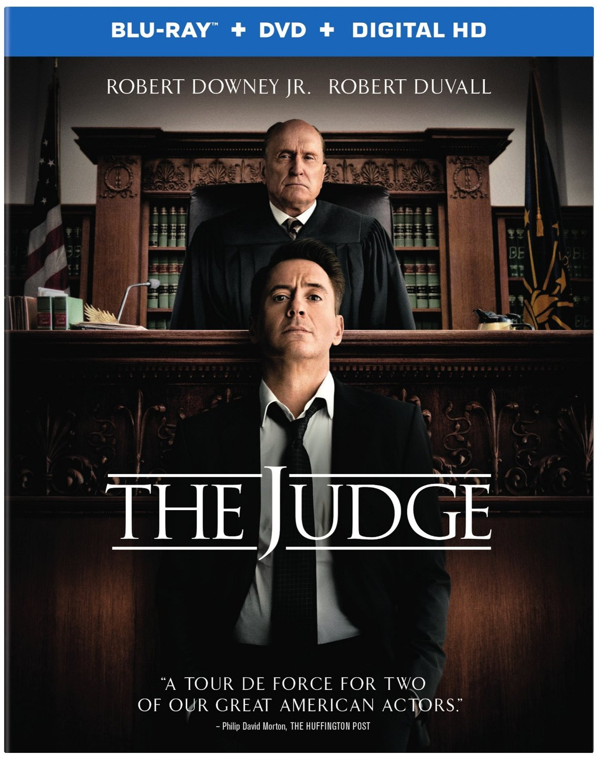 The Judge Blu-ray and DVD