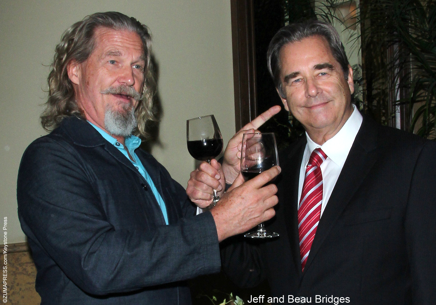 Beau and Jeff Bridges ...