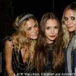 Mary-Kate, Ashley and Elizabeth Olsen