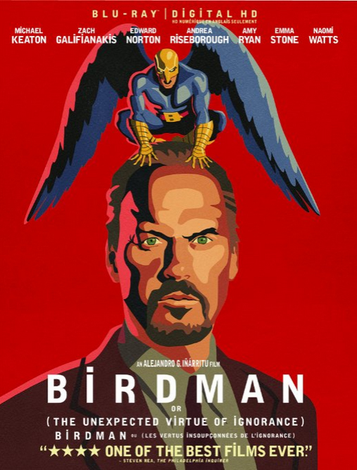 Birdman Blu-ray cover