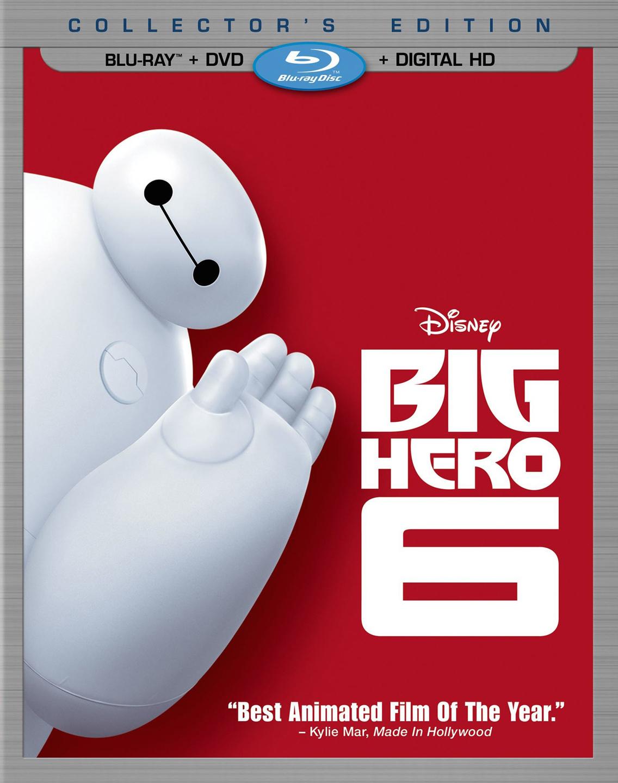 Big Hero 6 DVD Blu-ray