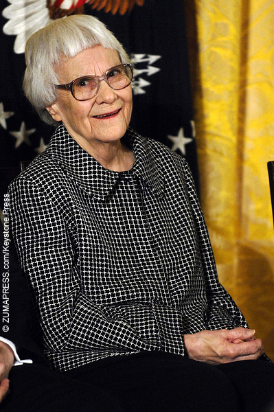 Harper Lee, the author of To Kill a Mockingbird