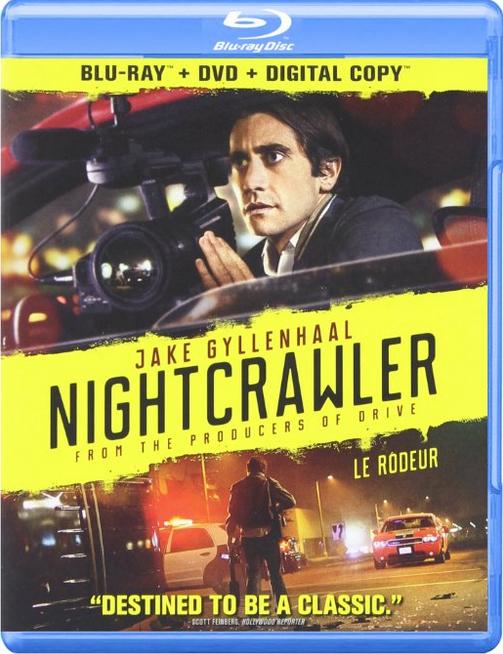 Jake Gyllenhaal in Nightcrawler DVD Blu-ray