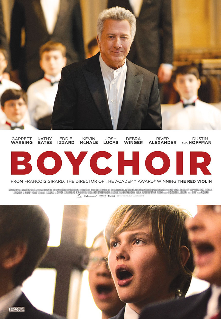 Boychoir starring Dustin Hoffman