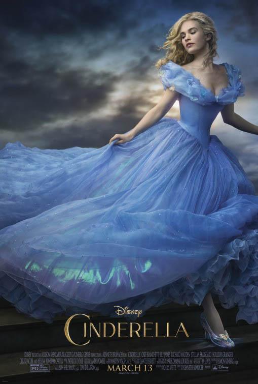Cinderella starring Lily James