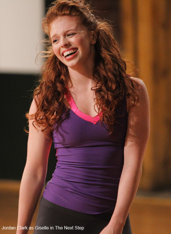 Jordan Clark as Giselle in The Next Step